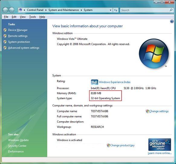 Как использовать весь доступный объём оперативной памяти в 32 bit Windows?