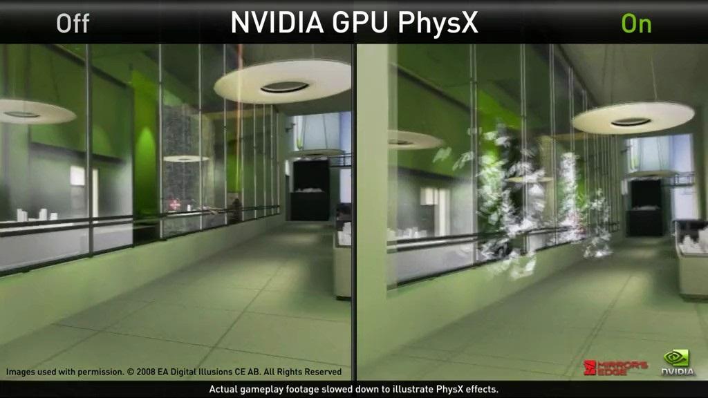 Nvidia PhysX скачать бесплатно