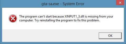 Скачать Программу Xinput1_3 Dll