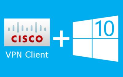 Cisco VPN Client Windows 10 x64 скачать бесплатно