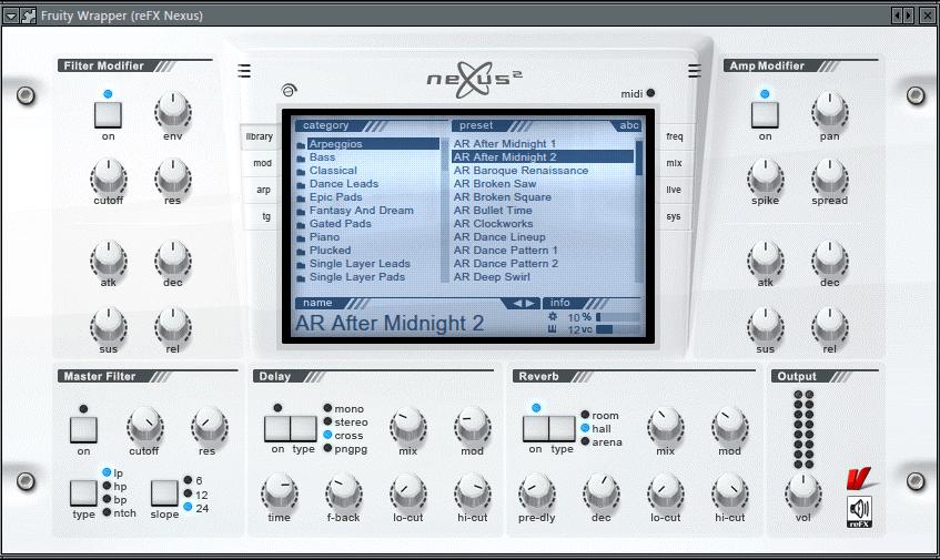 FL Studio 20 ReFX Nexus